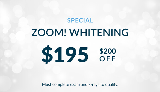 Zoom Whitening special for $195